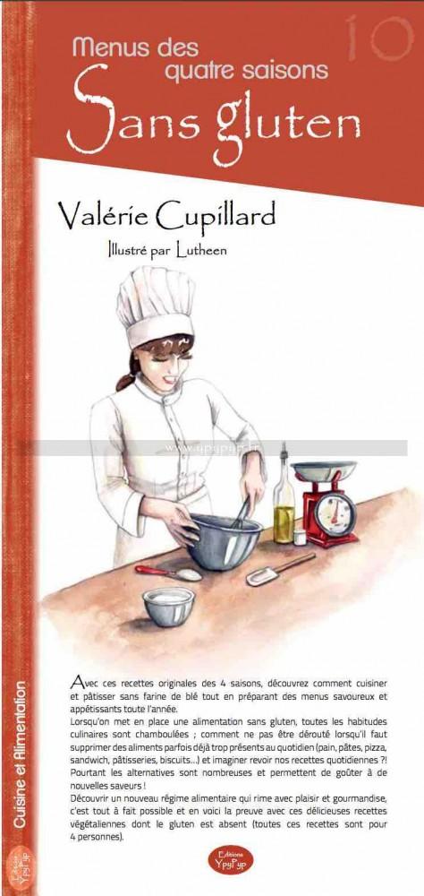 menus des quatres saisons sans gluten valérie cupillard ypypyp