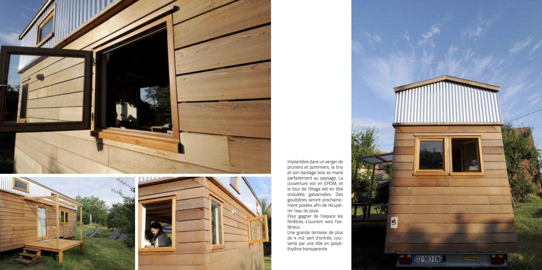 livre tiny house le nid qui voyage ypypyp. Black Bedroom Furniture Sets. Home Design Ideas